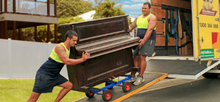 MiniMovers Professional Piano Removalists