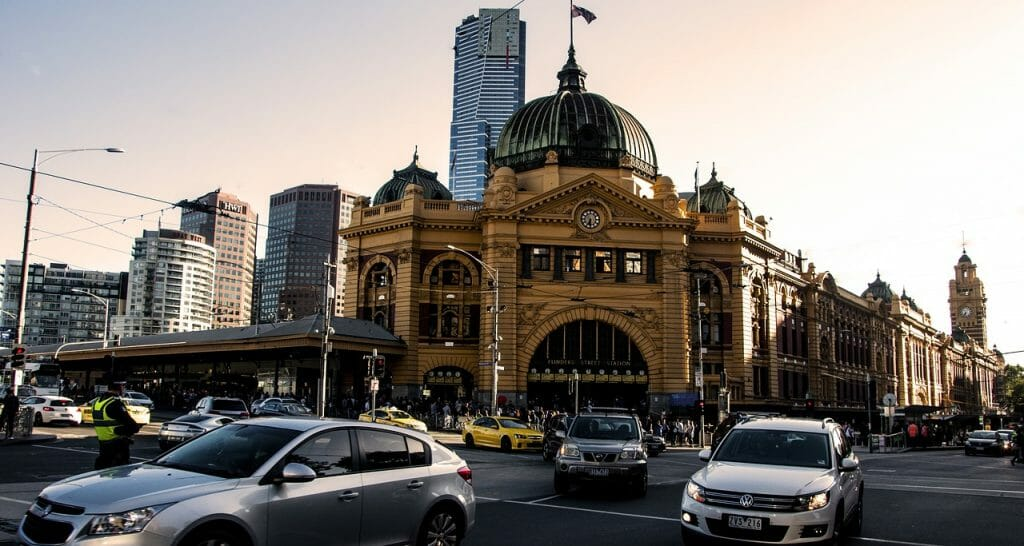 Station in Melbourne City