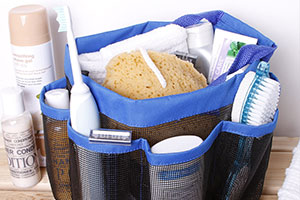 Mesh Bathroom Caddy for bathroom products